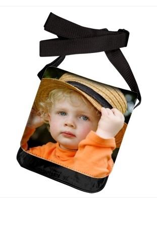 rabat de sac bandoulière avec photo