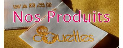Nos Produits : linge de maison et cadeaux personnalisés