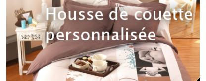 Housse de couette personnalis e avec photo miss couettes - Mettre housse de couette ...