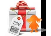 Chèque cadeaux 25