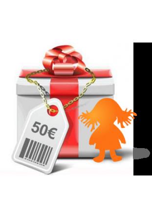 Chèque cadeaux 50