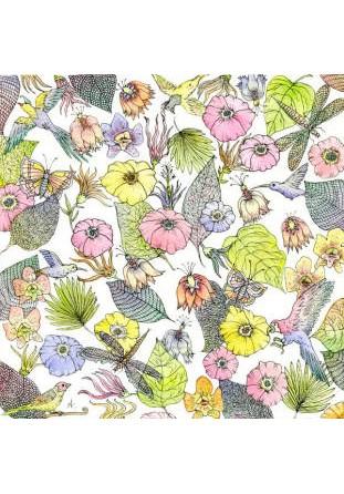 Coussin Fleurs