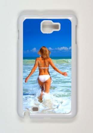 Coque Samsung Galaxy Note i9220 blanc [x]