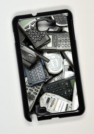 Coque Samsung Galaxy Note i9220 noir [x]