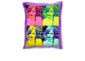 Beanbag grand format personnalisé violet