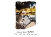 Couverture personnalisée pêle-mêle photo camel