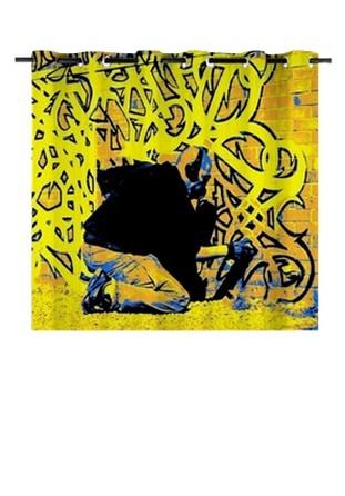Rideau tenture oeillets 150x130 avec photos