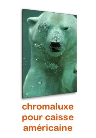 Chromaluxe portrait pour caisse américaine