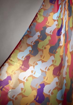 Rideau de douche décor chat 140cm