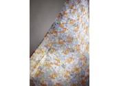 Rideau de douche décor millefleurs 140cm