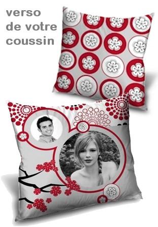 Coussin personnalisé Cerisier