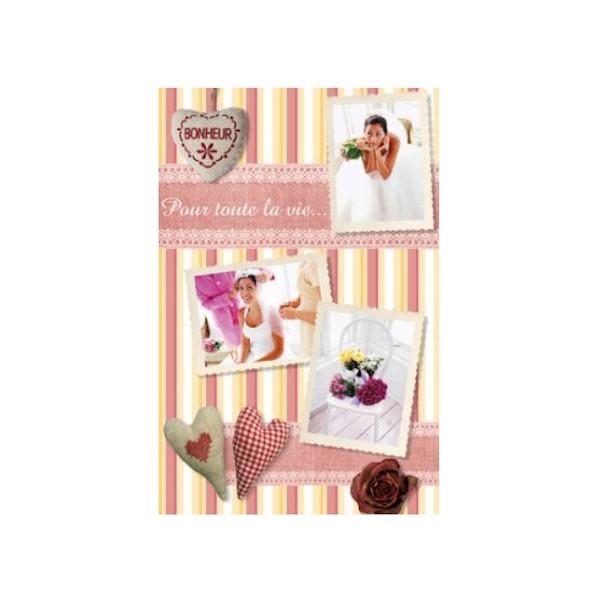 Cadeau romantique : la housse de couette rose avec vos photos