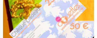 Chèques Cadeaux Miss Couettes